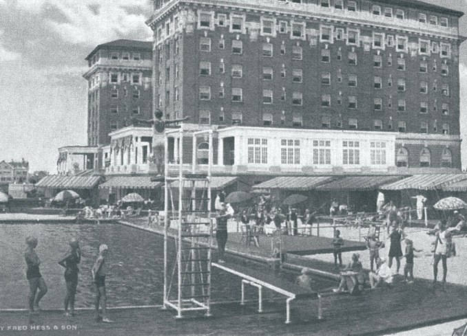Christian Admiral Hotel Pool in 1932