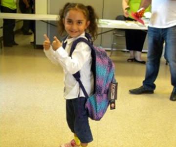 SJVC Rancho Cordova participates in Backpack Drive