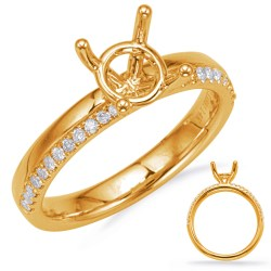 Small Crop Of Gold Engagement Rings