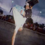 Momento Memorável do skate nacional:Tony Hawk e Lance Mountain em SP – 1988