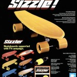 Sizzle!! Skateboards 1978
