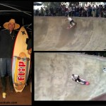 Surf/skate no Buck's Bowl – 2011