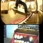 Minirampa & Piano =  Skate – Video Heldraptive -2012