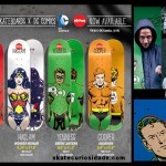Decks Super heróis Amost Skateboard X Dc Comics – 2014