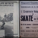 Skate no Vale do Paraiba – Revista Pop  – 1978