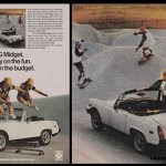 Propaganda do  Carro  MG – 1977