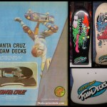 Decks Foam Santa Cruz – 1986