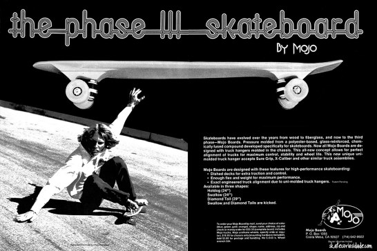 Skate Mojo base incorporada no shape. Garoto Propaganda Paul Campbell