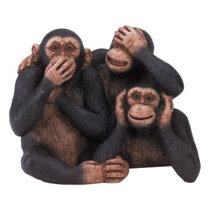 Denialism evolved from Apes. OK, maybe not.