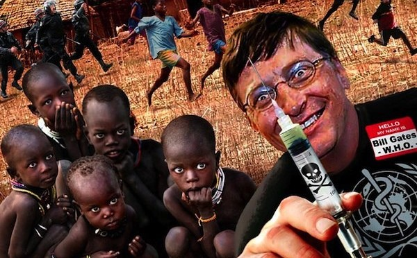 Bill Gates vaccinations in Africa – antivaccine hatred