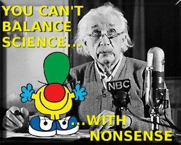 einstein-science-false-balance