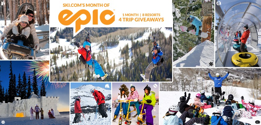 Epic Pass Family Trip Giveaway, Keystone, Vail, Breckenridge