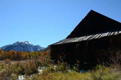 An old building with a view in Ashcroft.