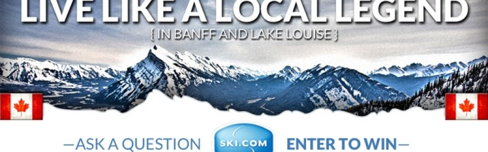 Enter to win a Banff Lake Louise ski vacation