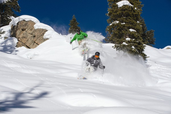 Crested Butte Cliffs, Crested Butte Powder, Crested Butte Skiing