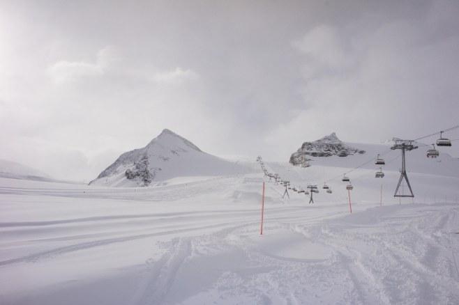 Zermatt Piste Furggsattel, Zermatt Switzerland