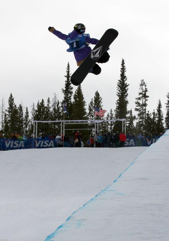 Elena Hight snowboard halfpipe, Elena Hight womens halfpipe