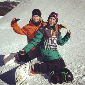 Sage Kotsenburg and Eric Willet