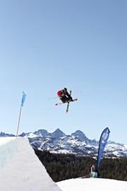 Tom Wallisch - 2012 Visa U.S. Freeskiing Grand Prix at Mammoth Mountain Slopestyle Finals Photo: Sarah Brunson/U.S. Freeskiing