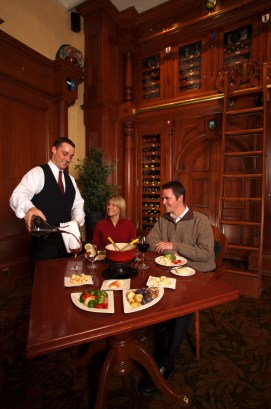Fairmont Chateau's Walliser Stube Fondue. pc: Fairmont Chateau Lake Louise