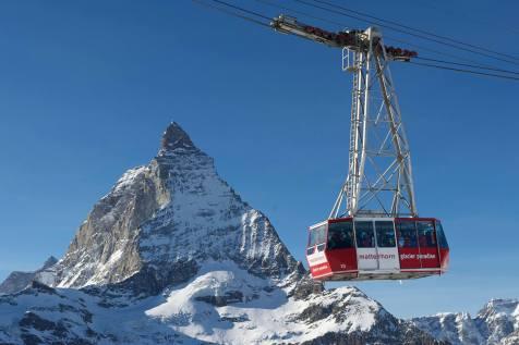 Zermatt spring skiing