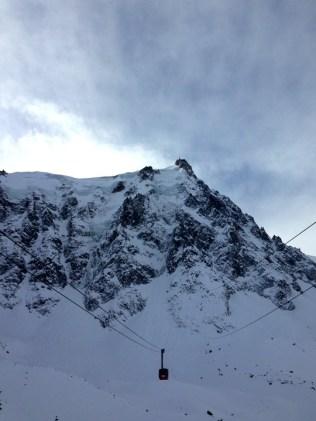 Aiguille du Midi Chamonix tram