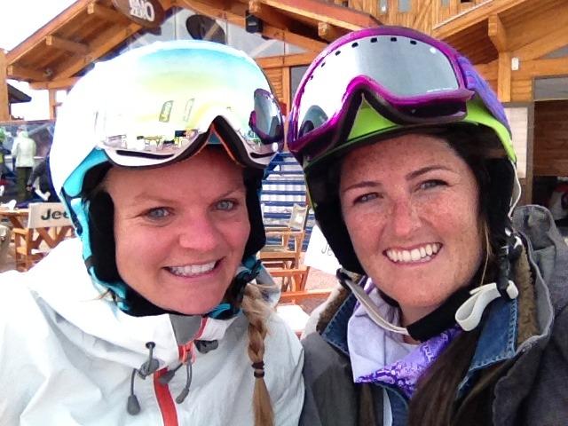 Valle Nevado friends