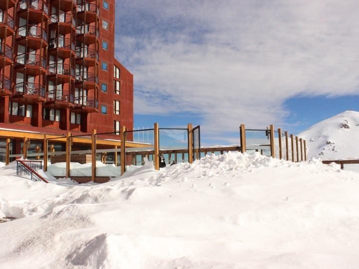 Exceptional early season conditions Valle Nevado