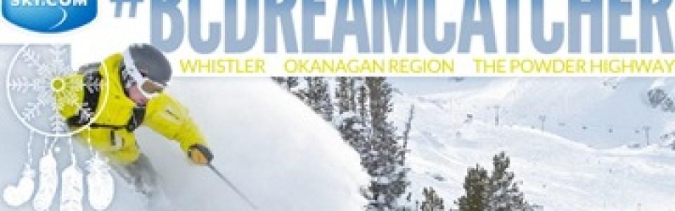 British Columbia trip giveaway