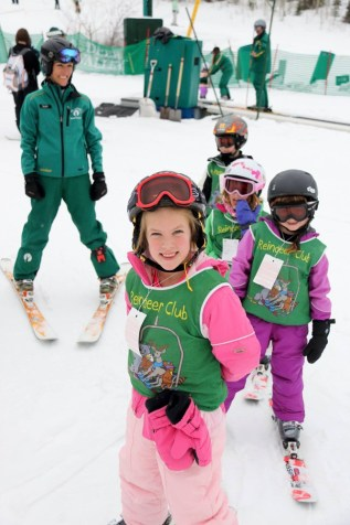 Deer Valley beginner ski school