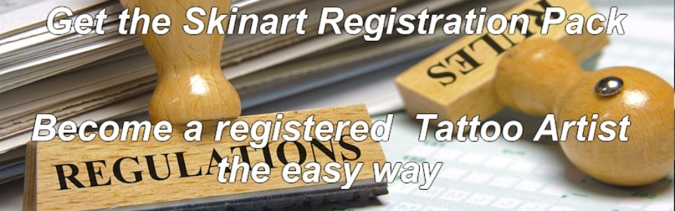 Registered Tattoo Artist Document Pack