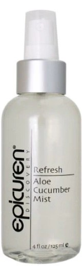 Skincare by Alana is excited to carry Epicuren's NEW Refresh Aloe Cucumber Mist!