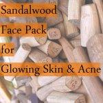 sandalwood face pack