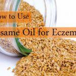 sesame oil for eczema