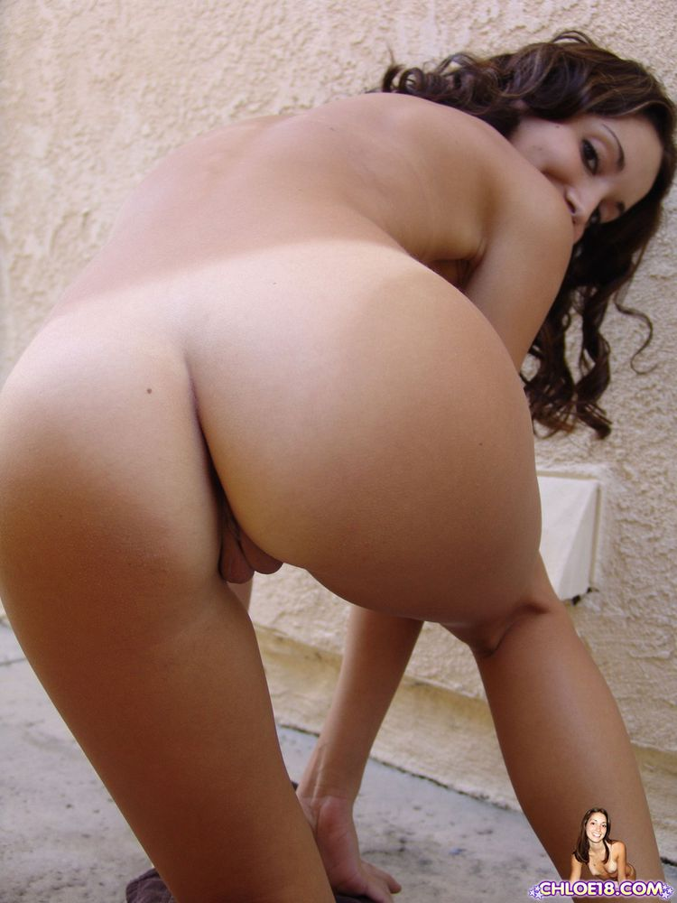 Teen nude bent over think, that
