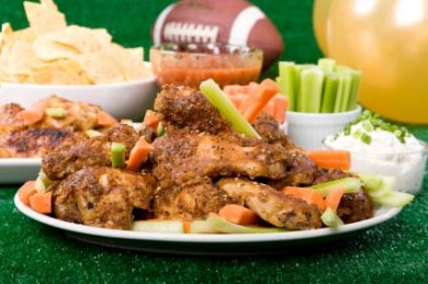 Football Wings and Beer at Skinny's