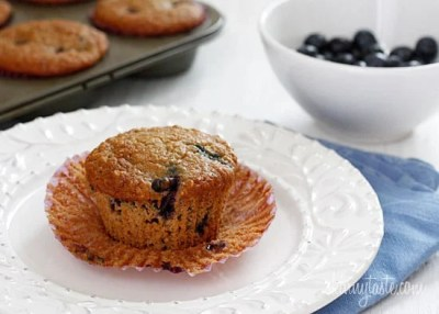Insanely Good Blueberry Oatmeal Muffin Recipe