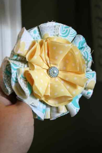 Pretty Flower Headband Tutorial