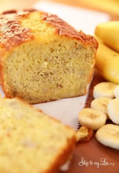 Easy Banana Bread | Skip To My Lou