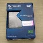 Disco Rígido (HD) Externo Western Digital (WD) My Passport Ultra 1TB Portátil Externo USB 3.0, em sua embalagem