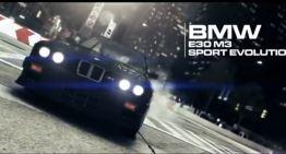 """أعلان سيارات """"BMW"""" الفئة الخامسة للعبة """"GRID 2"""""""