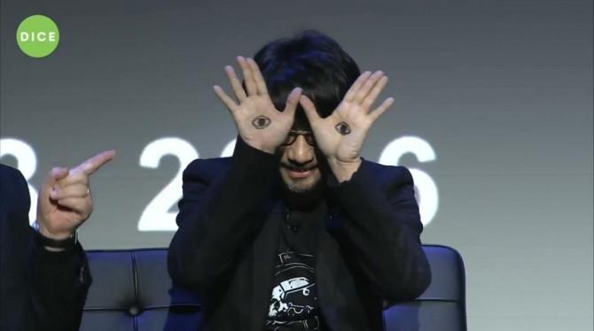 الندوة الكاملة  الخاصة بـHideo Kojima و Guillermo del Toro في DICE 2016