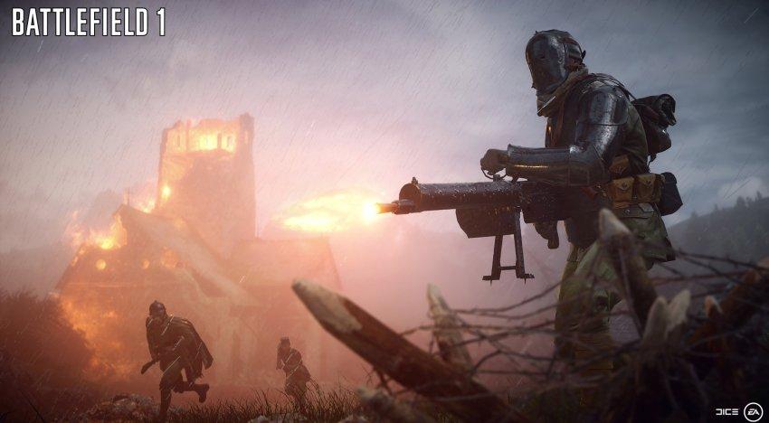 تفسير سبب ابتعاد DICE عن الاجواء المستقبلية من خلال Battlefield 1