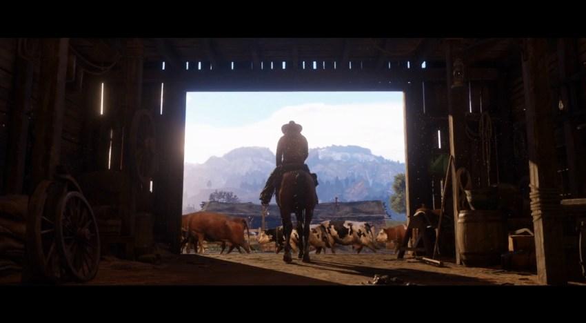 العرض الرسمي الاول للعبة Red Dead Redemption 2