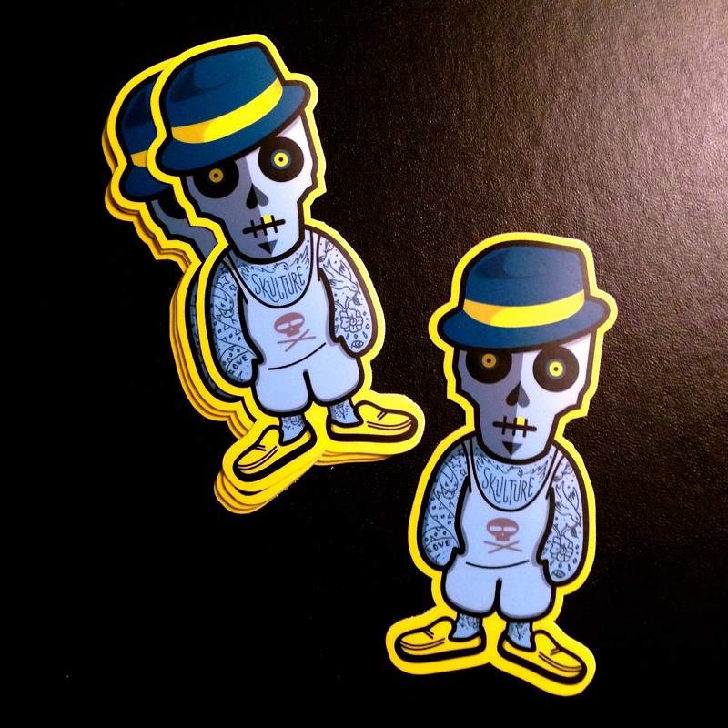 New Skullboy Stickers Available!