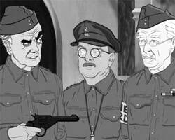 """Lost """"Dad's Army"""" episode emerges from the trenches – in animated form!"""