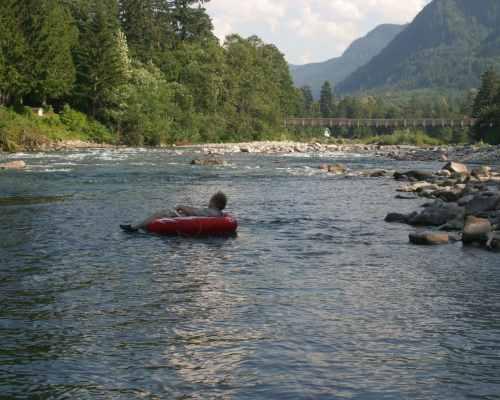Skykomish River Cabin Baring Washington
