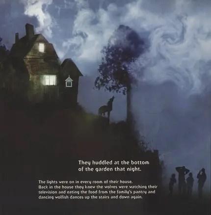 night wolf howling