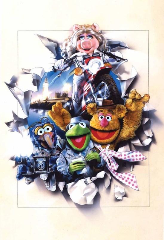 The Muppets Drew Struzan poster artwork