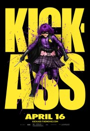 Kick-Ass Outdoor Art Posters - Hit Girl